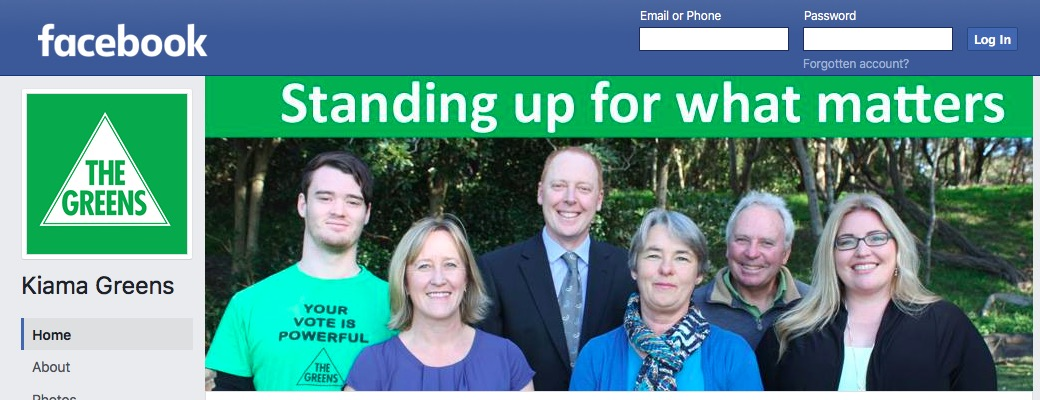 Kiama Greens on Facebook